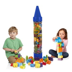 $10.00 Crayola Kids at Work 80pc Blocks in 36