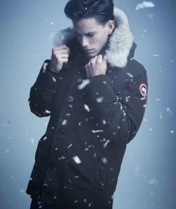 Extended 1 Day! Up to $600 Gift Card with Canada Goose Chateau Arctic-Tech Parka with Fur Hood Purchase  @ Neiman Marcus