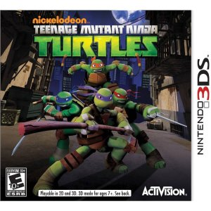 $6.25Teenage Mutant Turtles忍者神龟游戏 (Nintendo 3DS)