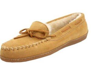 Minnetonka Women's Hardsole Pile-Lined Slipper