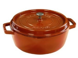 $179.99(Org.$429) Staub 6-Quart Round Cocotte on Sale @ Bloomingdales