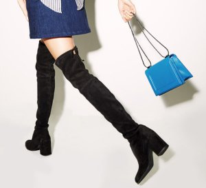 Last Day!Up to $100 Off Stuart Weitzman Over-the-Knee Boot Midland & Tieland Over-the-Knee Boots
