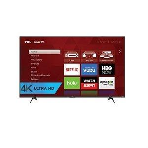 $379.99 TCL 43 Inch 4K Ultra HD Smart TV 43UP130 UHD TV + $150GC