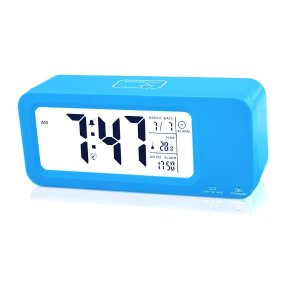 Samshow Digital Alarm Clock Rechargeable