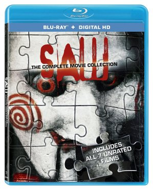 $9.75 Saw: The Complete Movie Collection [Blu-ray + Digital HD]