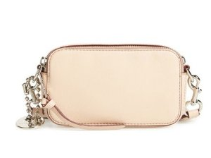 MARC JACOBS 'Recruit' Pebbled Leather Crossbody Bag