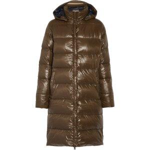 Deneb hooded padded shell down coat | Duvetica