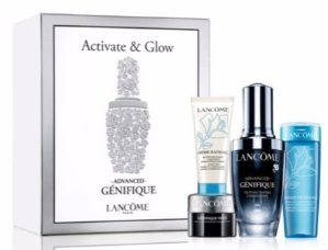Up to 28-pc Gift With Any Lancome Gift Sets Purchase @ Saks Fifth Avenue