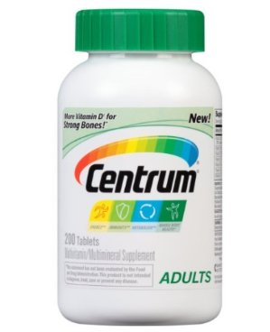 $9.49Centrum Adult Multivitamin/Multimineral Supplement (200-Count Tablets)