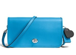 Up to Extra 50% Off COACH Turnlock Crossbody in Glovetanned Leather @ Bloomingdales