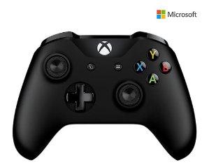 $35.99(原价$59.99)Xbox One 无线黑色手柄 (可与Xbox One,Xbox One S和Windows 10兼容)