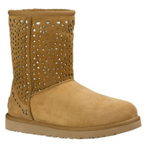 Womens UGG Classic Short Flora Perf - FREE Shipping & Exchanges