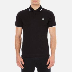 McQ Alexander McQueen Men's McQ Polo Shirt - Darkest Black - Free UK Delivery over £50