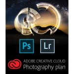 1-Year Adobe Creative Cloud Photography Plan: Photoshop CC & Lightroom (PC/Mac)