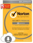 $27.99 Norton 诺顿安全软件Premium下载码 可用于10台设备