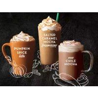 $3 each Three fall flavors @starbucks