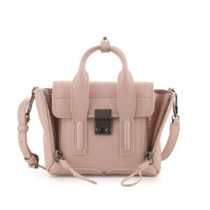 3.1 Phillip Lim Pashli Mini Leather Satchel Bag, Petal