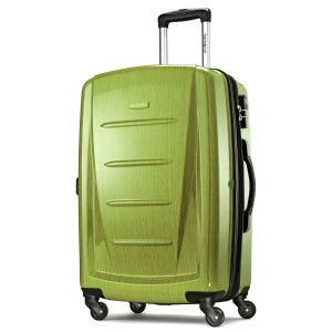 Extra 45% Off Samsonite Reflex 2 Lime hardside spinners