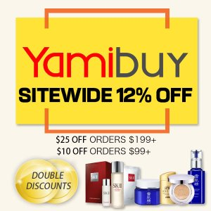 Upgrade! 12% Off + Up to $100 Off Sitewide @ Yamibuy