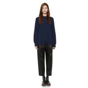 [CUSTOMELLOW]  fringe sweater