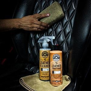Chemical Guys SPI_109_16 Leather Cleaner and Conditioner Complete Leather Care Kit