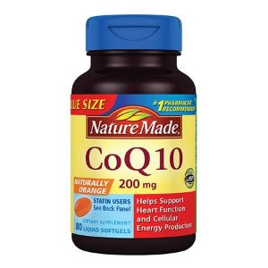 Nature Made CoQ10 200 mg Dietary Supplement Liquid Softgels | Walgreens