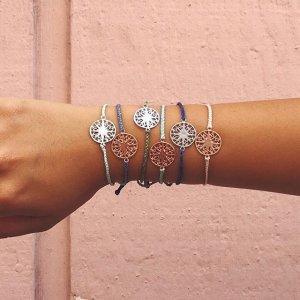 Silver Mandala Indigo | Pura Vida Bracelets