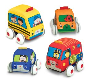 $14.83 Melissa & Doug K's Kids Pull-Back Vehicle Set