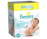 Pampers Sensitive Baby Wipes, Refill Pack, Unscented, 576 Ct | Jet.com