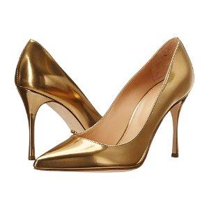 Sergio Rossi Godiva 金色高跟鞋
