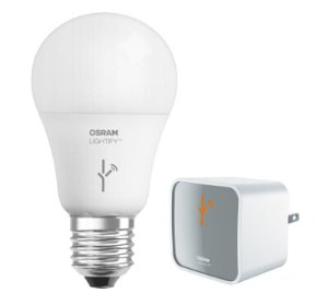 $26.98SYLVANIA Lightify 60W LED 智能灯泡套装