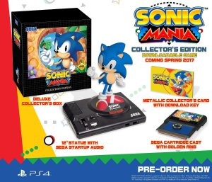 As low as $55.99 Sonic Mania: Collector's Edition - PlayStation 4