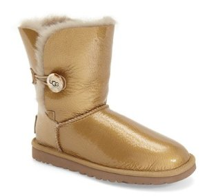 UGG Australia Bailey Button Mirage Water Resistant Genuine Shearling Boot @ Nordstrom Rack
