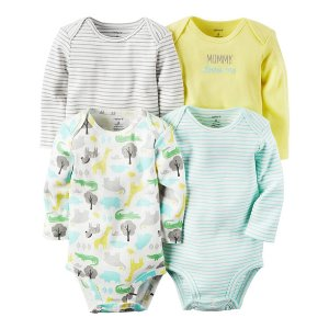 Baby Girl 4-Pack Original Bodysuits | Carters.com
