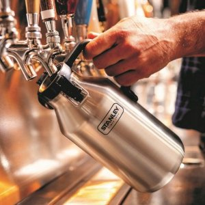 Stanley Stainless Steel Growler and Grumbler (Half Growler), 64oz