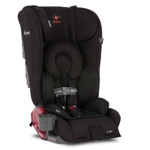 Diono Rainier Convertible Car Seat, Midnight Black