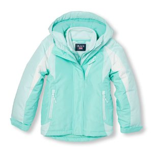 Girls Long Sleeve Colorblock Hooded 3-In-1 Jacket   The Children's Place