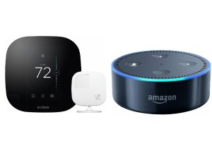 $199.99 ecobee3 Programmable Touch-Screen Wi-Fi Thermostat + FREE Amazon Echo Dot
