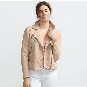 Leather Moto Jacket | Desert Blush |Levi's® United States (US)