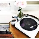 #1 Best Seller! $99.00 Audio Technica Fully Automatic Belt-Drive Stereo Turntable, Black/white