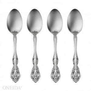 Oneida Michelangelo Set of 4 Teaspoons, Fine Flatware - BOGO Sets/4 Flatware - Sale