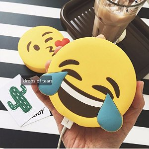 Bestag  Emoji Portable USB Charger Power Banks for All Mobile Phone