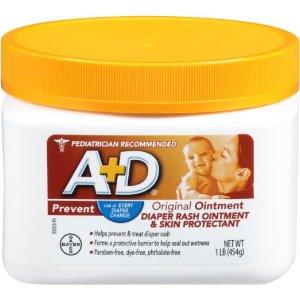 $9.66 + Free Shipping A&D Original Diaper Ointment Jar, 1 Pound