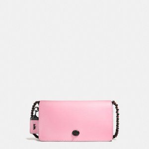 COACH: Dinky In Colorblock Glovetanned Leather