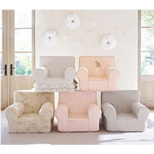 Soft Chairs For Toddlers And Kids | Pottery Barn Kids