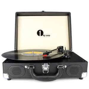 Crosley 3-Speed Portable Stereo Turntable with Built in Speakers