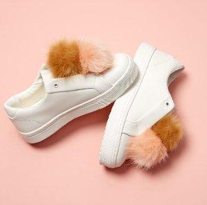 $99.95免邮!上新色!Sam Edelman 'Leya'绒毛丝绒女鞋5色热卖