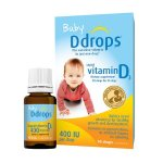 Ddrops Baby Vitamin D3 Liquid, 400IU, 90 Ct