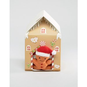 ASOS | ASOS Holidays Gingerbread Man Cozy Sock Gift Box