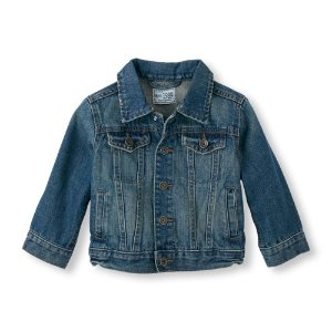 Toddler Boys Long Sleeve Denim Jacket | The Children's Place